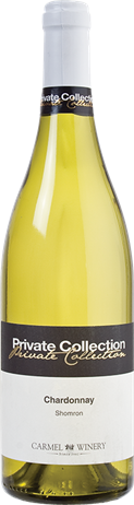 Carmel Mizrachi Chardonnay Private Collection Kosher